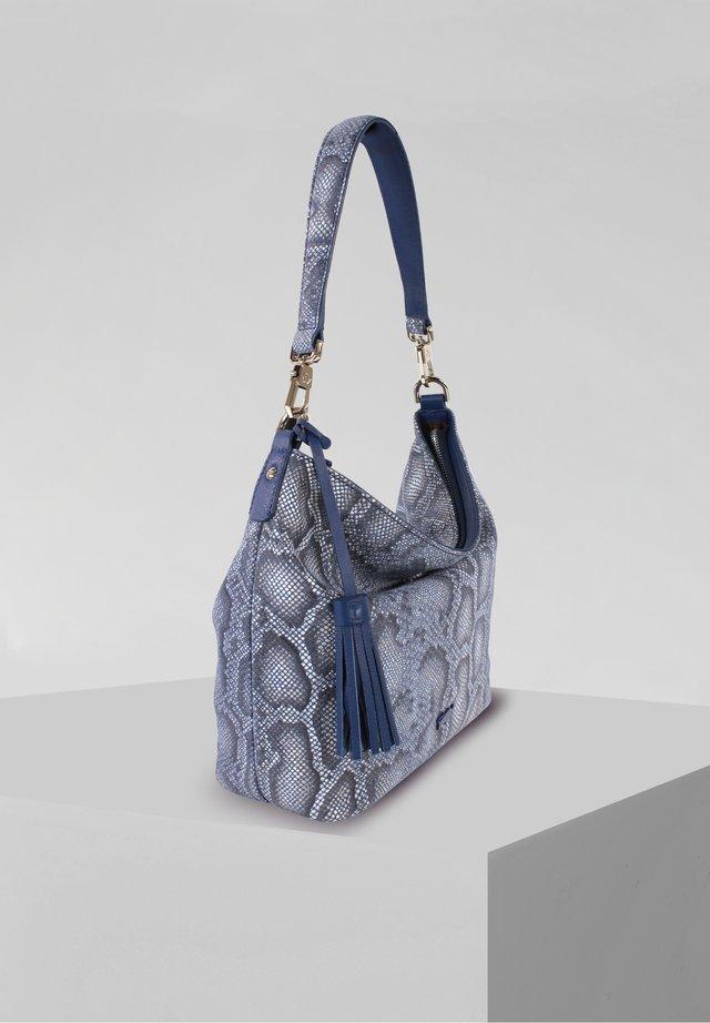 MIRA - Handbag - blau