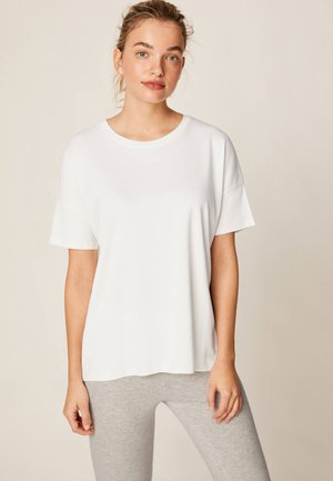 OBERTEIL IM RELAXED FIT - Pyjamasöverdel - white