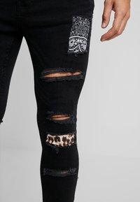 Brave Soul - CILLIAN - Jeans Skinny Fit - charcoal - 4