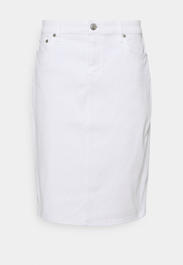 BULL SKIRT - Jeansrok - white wash