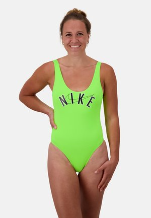 Swimsuit - electric green