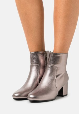 Ankle boots - gunmetal