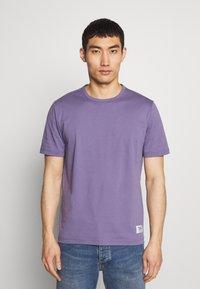 Tiger of Sweden - OLAF - T-shirt basique - purple air - 0