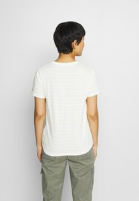 Tommy Hilfiger - COOL TEE - Print T-shirt - classic breton/frosted lemon - 2