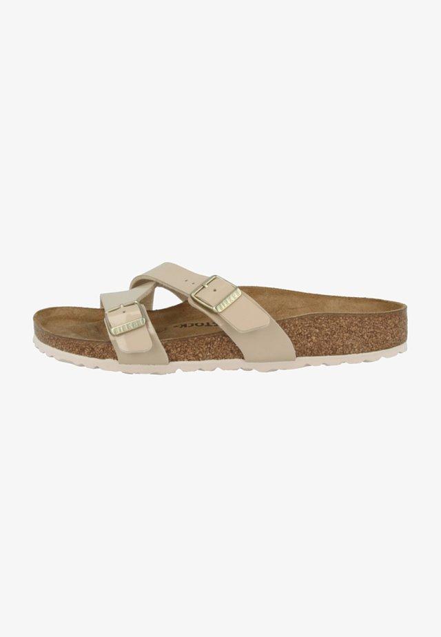 YAO BALANCE - Pantofle - beige