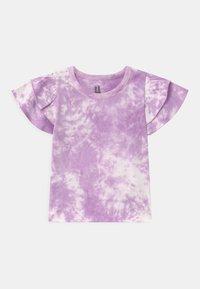 Cotton On - FLEUR FLUTTER SLEEVE 2 PACK - Print T-shirt - summer violet/cali pink - 1