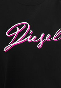 Diesel - T-SILY-K10 - Print T-shirt - black - 6