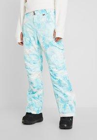 Rojo - ADVENTURE AWAITS PANT - Pantaloni da neve - light blue - 0
