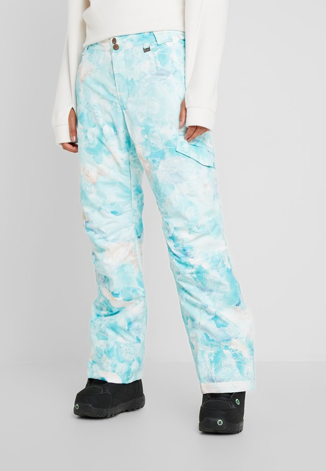 ADVENTURE AWAITS PANT - Pantaloni da neve - light blue