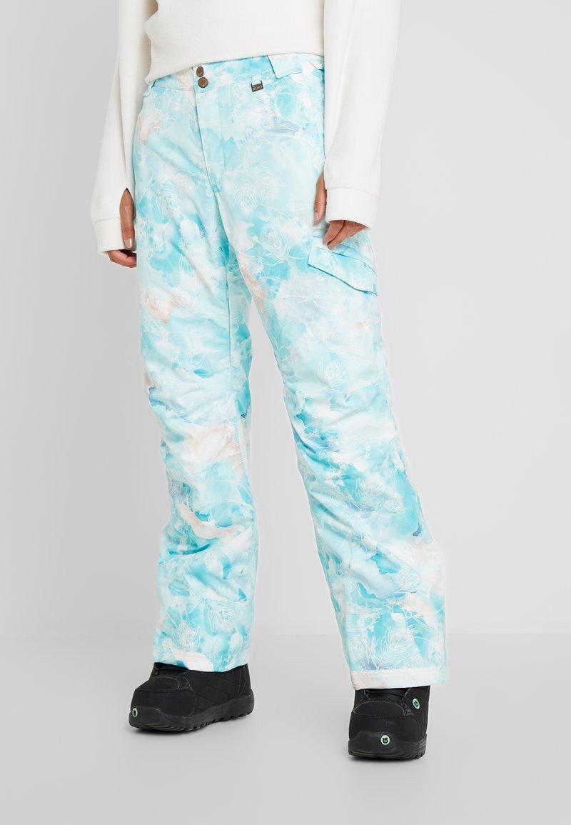 Rojo - ADVENTURE AWAITS PANT - Pantaloni da neve - light blue