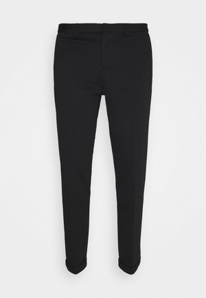 CROPPED - Chinos - black
