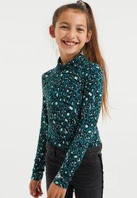 WE Fashion - Top sdlouhým rukávem - mint green - 1