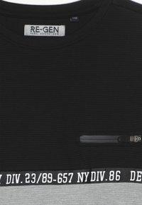 Re-Gen - BOYS LONGSLEEVE - Langærmede T-shirts - black - 4