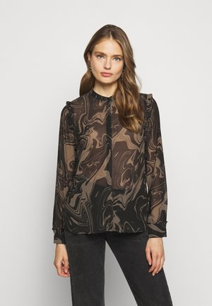MARBELL EGLAS BLOUSE - Blouse - brown