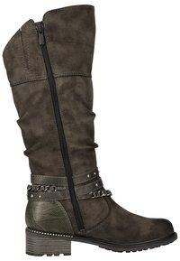 Mustang - Cowboy/Biker boots - dunkelgrau 20 - 3