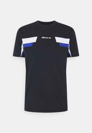 FELLION TEE - T-shirt med print - navy