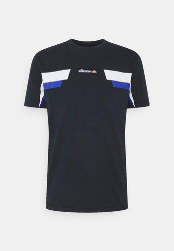 FELLION TEE - Print T-shirt - navy