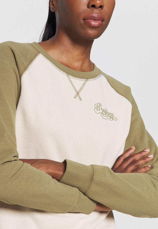 KEELER CREW - Sweater - khaki