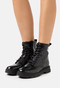 Mexx - FIX - Lace-up ankle boots - black - 0