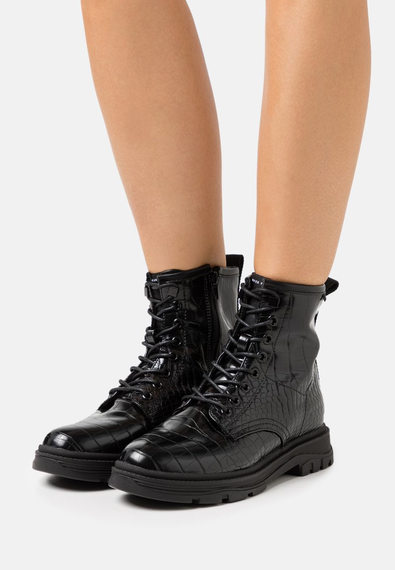 Mexx - FIX - Lace-up ankle boots - black