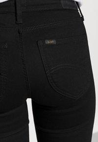 Lee - SCARLETT - Jeans Skinny Fit - black rinse - 4