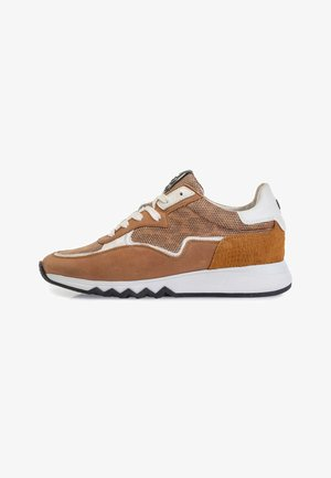 NINETI - Sneakers laag - cognac