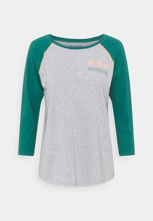 CARATUNK RAGLAN - Long sleeved top - GREY HEATHER/ ANTQGN