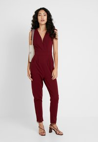 WAL G TALL - Jumpsuit - burgundey - 1