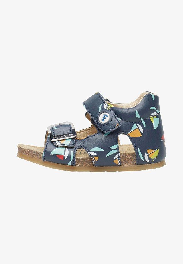 Sandals - blau