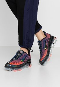 Nike Sportswear - NIKE AIR VAPORMAX 360 - Zapatillas - blue void/kinetic green/magic ember/vivid purple-mtlc silver-black - 0