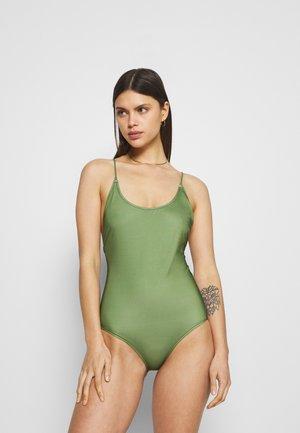 KARA  - Plavky - vineyard green