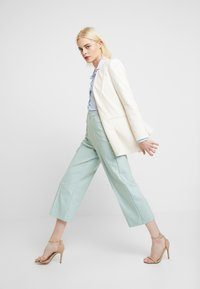 Mos Mosh - NIGHT PANT SUSTAINABLE - Trousers - mint haze - 2