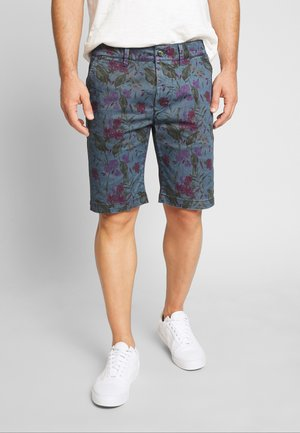 MC QUEEN FLORAL - Shorts - blue