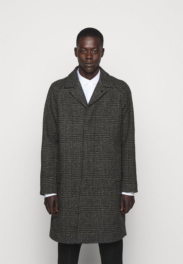 HOPSACK - Manteau classique - black/grey