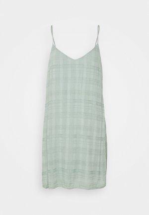 SOLID SLIP DRESS - Kjole - teal