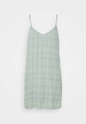 SOLID SLIP DRESS - Denní šaty - teal