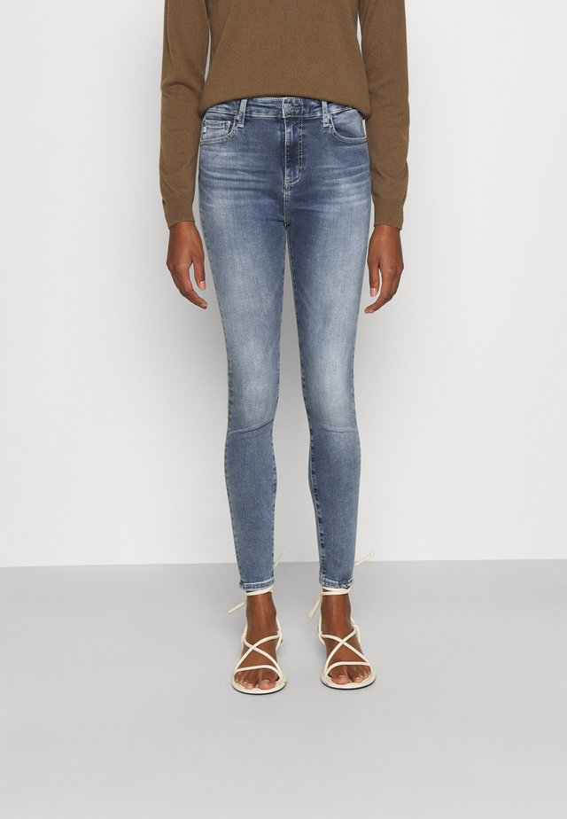 PRIMA ANKLE - Jeansy Skinny Fit - light blue