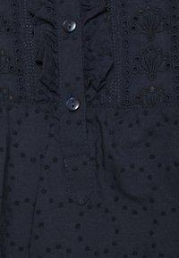 Marks & Spencer London - FRILL COLLAR - Bluser - dark blue - 2