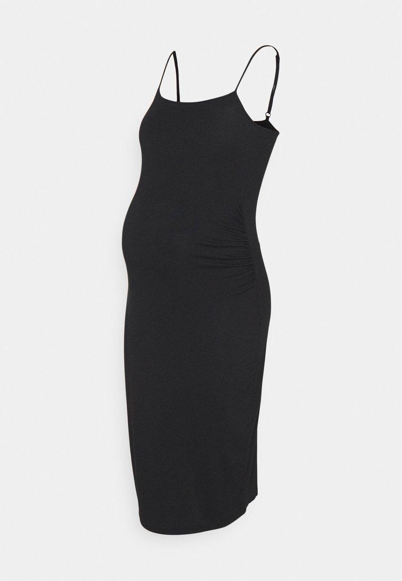Anna Field MAMA - Jersey dress - black
