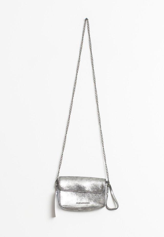 Schoudertas - silver-coloured