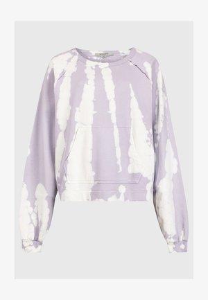 TIE DIE JESSI - Sweatshirts - purple