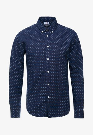 PRINTED POPELIN OUTDOOR - Shirt - blues