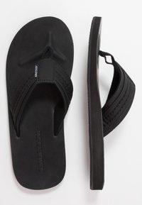 Jack & Jones - JFWBOB JAVA - T-bar sandals - anthracite - 1