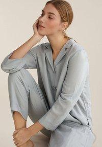 OYSHO - Pyjama bottoms - light blue - 4