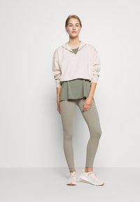 Cotton On Body - HALF ZIP CREW - Sweater - oatmeal marle - 1