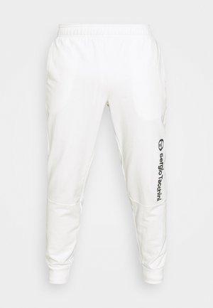 ALMERS PANT - Tracksuit bottoms - blanc de blanc