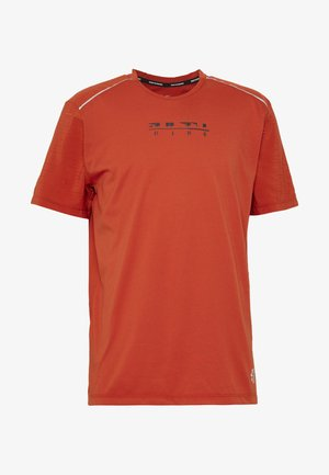 RISE HYBRID - T-shirt con stampa - rust factor