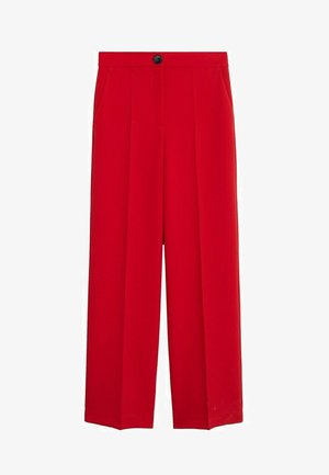 SIMON-I - Trousers - rood