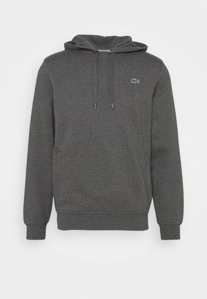 CLASSIC HOODIE - Luvtröja - pitch chine/graphite sombre