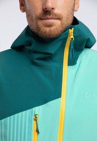 PYUA - FLIGHT - Giacca da snowboard - green - 3
